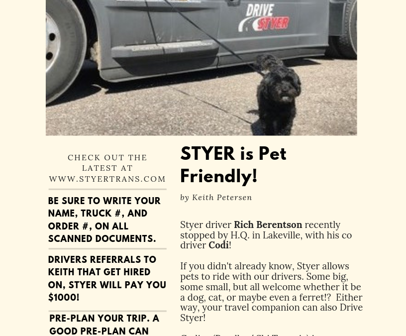 Styer Wire Bulletin Vol. 10